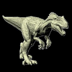 Allozaur dinozaur